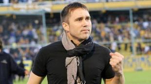Coudet, entrenador argentino.