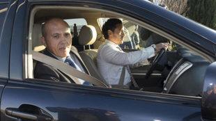 José María Del Nido, atiende a los medios de comunicación tras...
