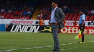 Alfonso Sosa durante el partido ante Veracruz.