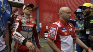 Jorge Lorenzo, en el pasado GP de Argentina.