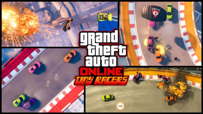 Rockstar Presenta Tiny Racers Alocadas Carreras De Estilo Retro