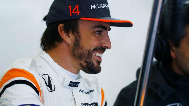 Fernando Alonso, durante el pasado GP de Bahréin.