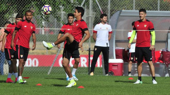 Sevilla Ganso Vuelve A Jugar 108 Dias Despues Marca Com