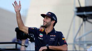 Daniel Ricciardo, en el pasado GP de Bahréin
