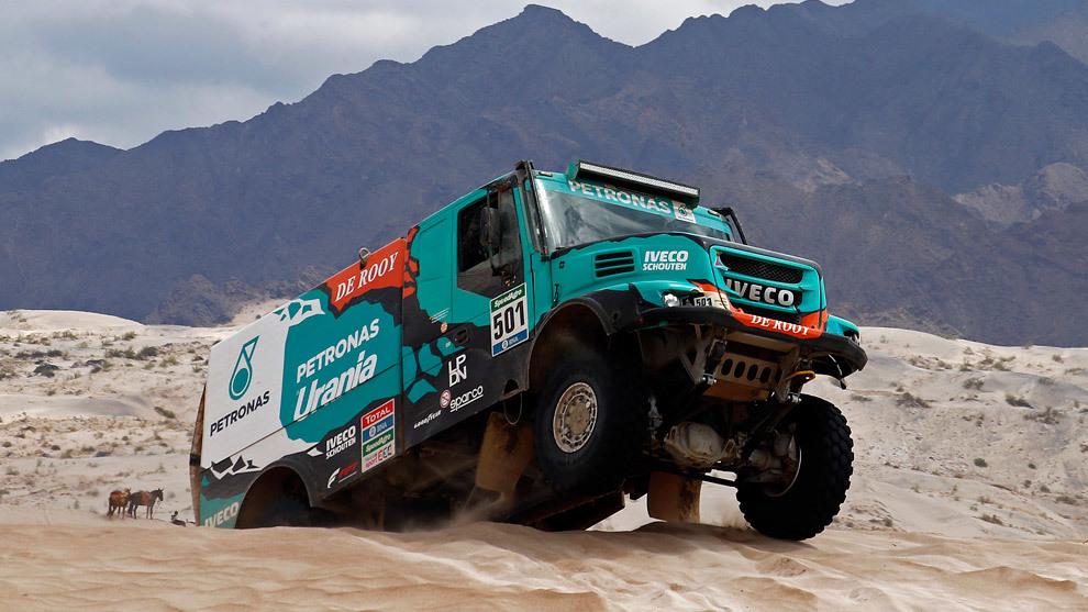 Gerard De Rooy, en el Dakar 2017