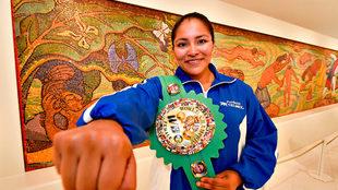 La mexicana Ibeth Zamora.