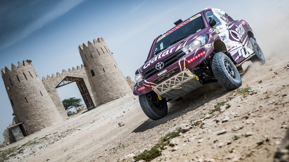 Nasser Al-Attiyah Rally Qatar 2017