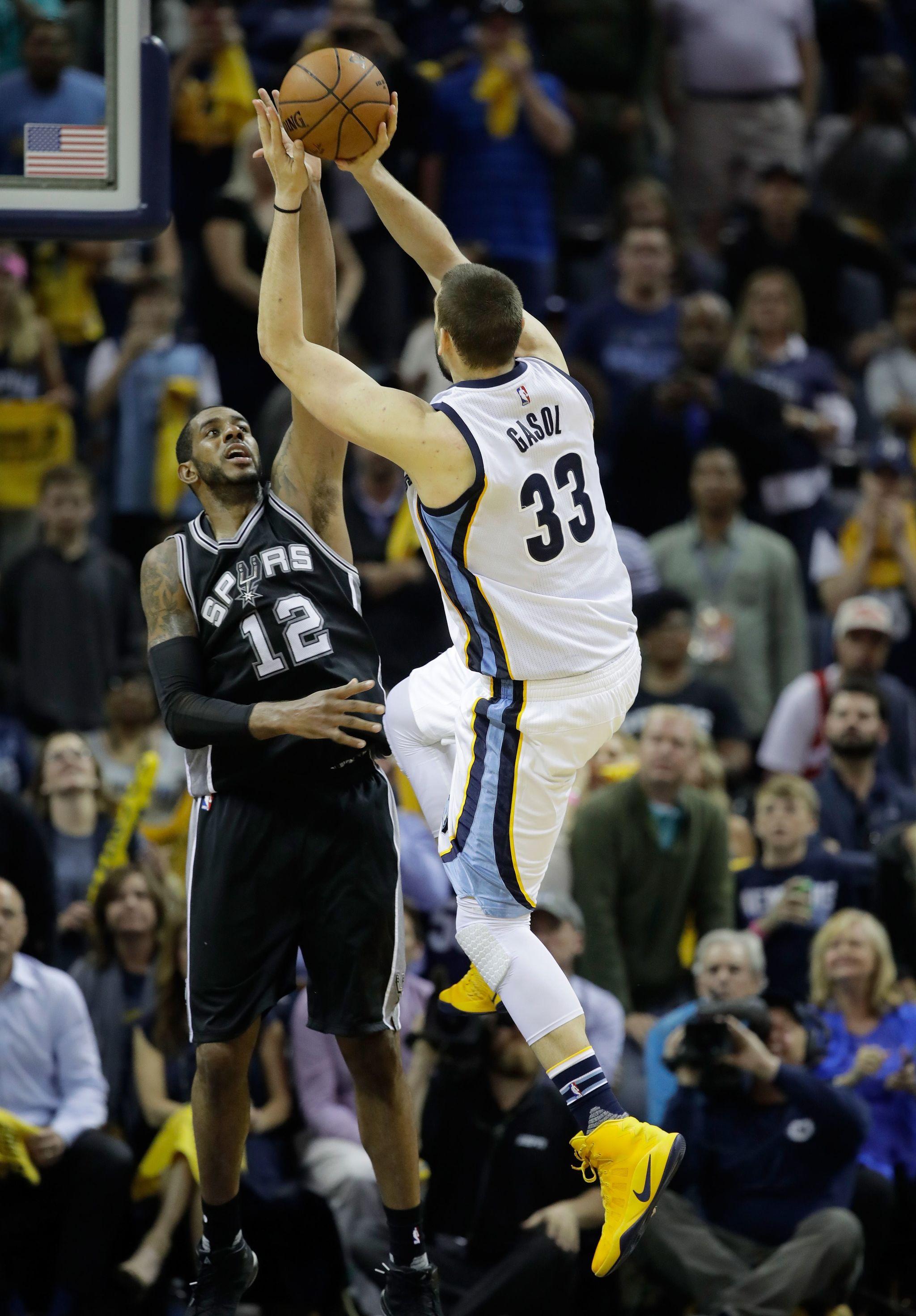 El tiro ganador de Marc Gasol ante los Spurs