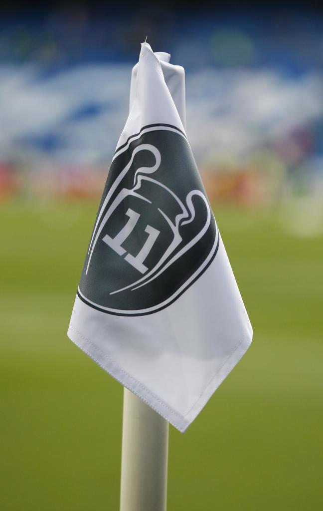 4fbca3beda9 Real Madrid boast 32 LaLiga titles on corner flag design