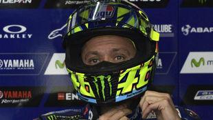 Valentino Rossi, piloto de Yamaha