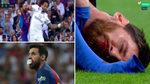 Messi sangró sobre el césped del Bernabéu