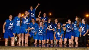 El Estudiantes asciende a Liga Femenina y se convierte en el único...