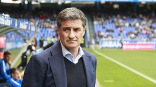 Michel durante un partido de Liga