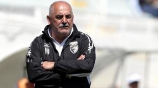 Vitor Oliveira dirigiendo al Portimonense