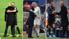 Zidane, junto a la BBC.
