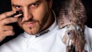 EL chef dos estrellas Michelín Xanty Elías, de Acanthum (Huelva)