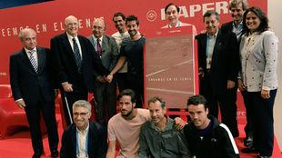 La familia del tenis con Mapfre