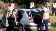 El vehículo del asesino fu localizado en las proximidades del lugar...