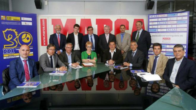 Presentación en MARCA del Torneo Magistral de Ajedrez Ciudad de...