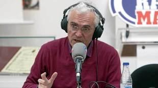 Paco García Caridad, durante su etapa en Radio MARCA.