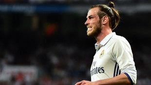 Bale tras fallar un gol en el Clásico