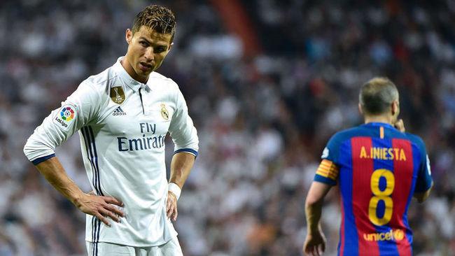 Cristiano ante el Barcelona en el Bernabéu