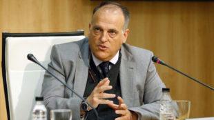 Javier Tebas en una imagen de archivo