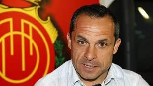 Sergi Barjuán, durante la entrevista con MARCA