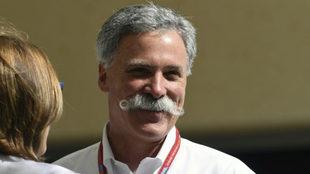 El jefe de la F1, Chase Carey.