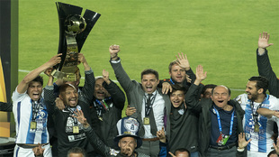 Pachuca levantó su quinto título de campeón del continente
