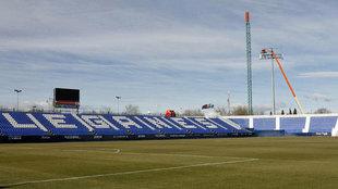 Panorámica del Estadio del Leganés