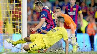 Sandro (21) anota su primer gol en Primera división ante el...