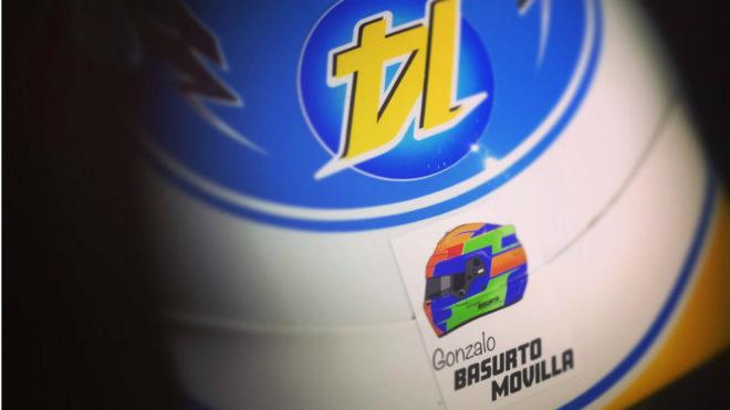 El casco que lucirá Fernando Alonso.
