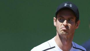 Murray se muestra contrariado