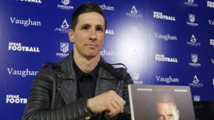 Fernando Torres, en la presentación.