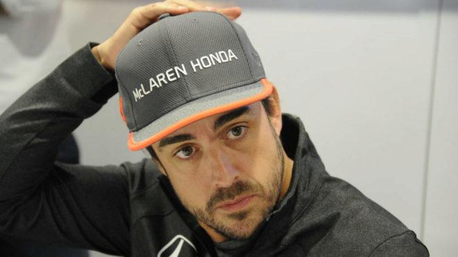 Fernando Alonso, en el Circuito del Parque Olímpico de Sochi.