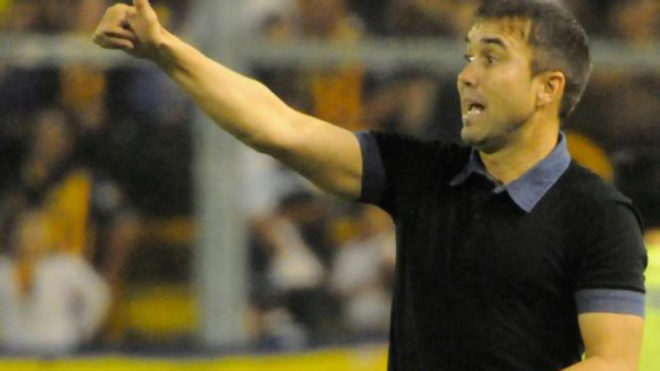 Coudet dirigiendo en Argentina