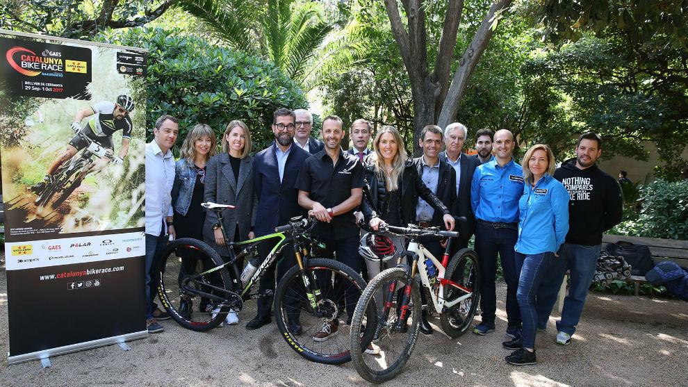 Presentación de la GAES Catalunya Bike Race