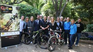 Presentaci�n de la GAES Catalunya Bike Race