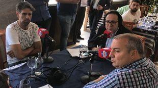 Juan Carlos Valerón en los micrófonos de Radio MARCA