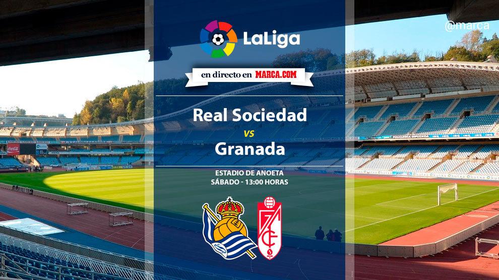 Real Sociedad vs Granada en directo