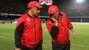 Luna y Ortega, previo al duelo ante Monterrey.