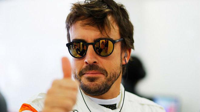 Alonso, en el GP de Rusia.