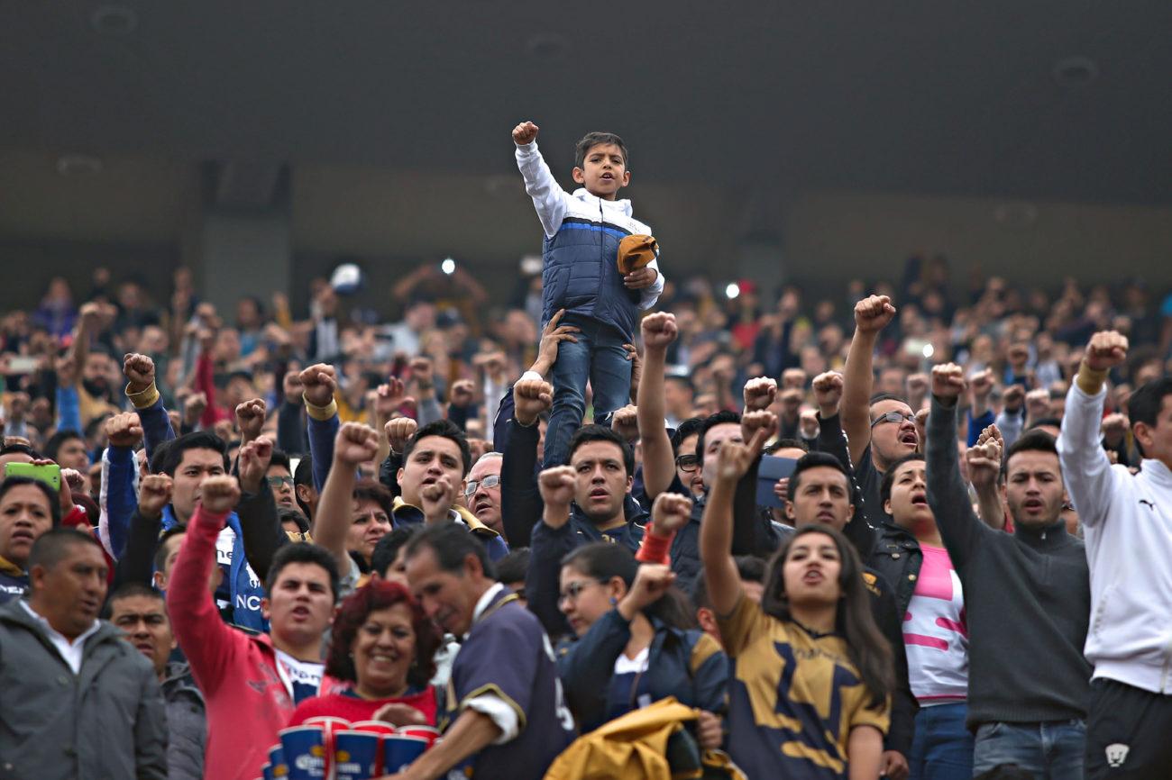 El niño, liderando la porra de los pumas | MARCA.com