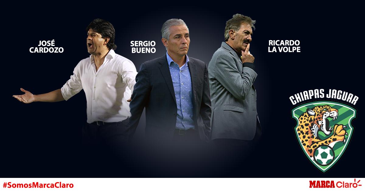 Sergio Bueno, Ricardo La Volpe y José Cardozo son los últimos...