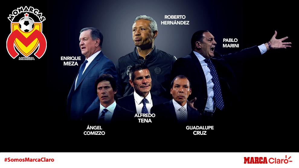 Comizzo, el Profe Cruz, Tena, Meza, Marini y Roberto Hernández han...