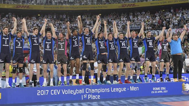 El equipo ruso se convirtió en tricampeón de la Champions League de...
