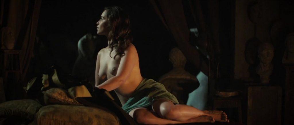 Emilia Clarke Khaleesi En Juego De Tronos Se Desnuda En Su