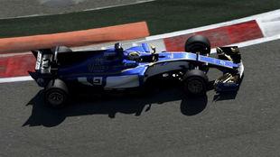 Marcus Ericsson, en el pasado GP de Rusia