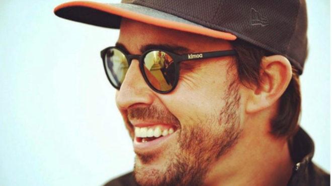 La imagen que colgó Alonso en su cuenta de Twitter.